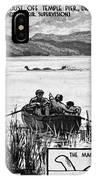 Loch Ness Monster, 1934 IPhone Case