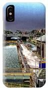 Lockport Canal Locks IPhone Case