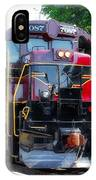 Locomotive In Color IPhone Case