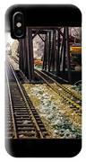 Locomotive Tracks IPhone Case
