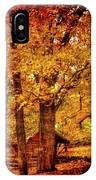 Log Cabin At  Ringwood Manor New Jersey IPhone Case