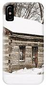 Log Home IPhone Case