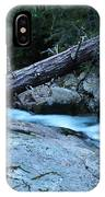 Log Over Deep Creek IPhone Case