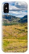 Logan Pass Panorama IPhone Case