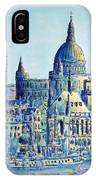 London City St Paul's Cathedral IPhone Case