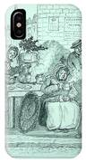 London Coffee Stall IPhone Case