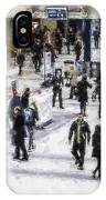 London Commuter Art IPhone Case