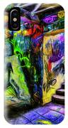 London Graffiti Van Gogh IPhone Case