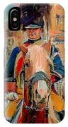 London Guard On Horse IPhone Case