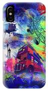 London Portrait  IPhone Case