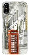 London Telephone C IPhone Case