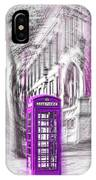 London Telephone Purple IPhone Case