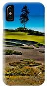 Lone Fir - Hole #15 At Chambers Bay IPhone Case