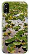 Lone Lake Lily Pads IPhone Case