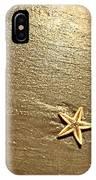 Lone Starfish On The Beach IPhone Case