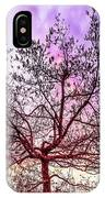 Lone Tree On The Hill IPhone Case