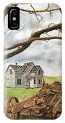 Lonely Farm IPhone Case
