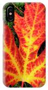 Lonely Leaf ... IPhone Case