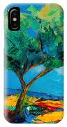 Lonely Olive Tree IPhone Case