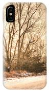 Lonesome Road IPhone Case