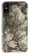 Long Live The Tzar Vive Le Tzar Felix Bracquemond 1833 - 1914 IPhone Case