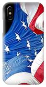 Long May She Wave The American Flag IPhone Case