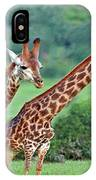 Long Necks Together IPhone Case