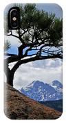 Longs Peak Framed IPhone Case