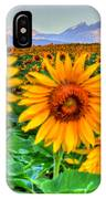 Longs Sunflowers IPhone Case