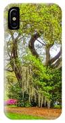 Longwood Plantation In Spring Glory IPhone Case
