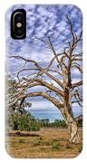 Lonley Tree IPhone Case