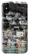 Looe Harbour - Cornwall IPhone Case