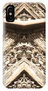 Looking Both Ways Down The Train Tracks IPhone Case