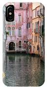 Looking Down A Venice Canal IPhone Case