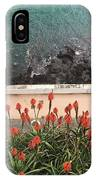 Looking Down, Angra Do Heroismo, Terceira Island Of Portugal IPhone Case by Kelly Hazel