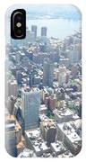 Looking Down At New York 2015  IPhone Case