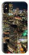 Looking Down On Boston Boston Ma IPhone Case