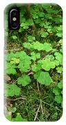Looking For A Four-leaf Clover IPhone Case