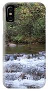 Looking Glass Falls Downstream IPhone Case