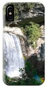 Looking Glass Falls Nc IPhone Case