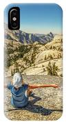 Looking Half Dome IPhone Case