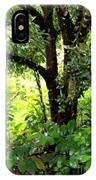 looking into the Jungle IPhone Case