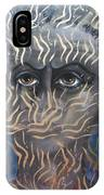 Looking Through Fire IPhone Case