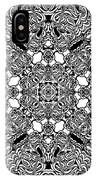 Loops Black And White No. 1 IPhone Case