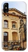 Lord Clarendon's Statue, Clarendon Building, Oxford IPhone Case