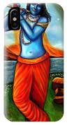 Lord Krishna- Hindu Deity IPhone Case