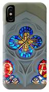 Loretto Chapel Stained Glass IPhone Case