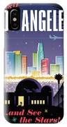 Los Angeles Poster - Retro Travel  IPhone Case