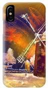 Los Molinos Del Quijote 01 IPhone Case