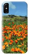Los Olivos Poppies IPhone Case